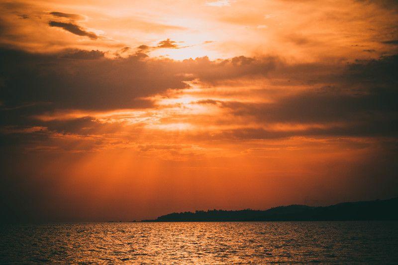 закат, море, лето, пейзаж, солнце, sun, landscape Романтика закатаphoto preview
