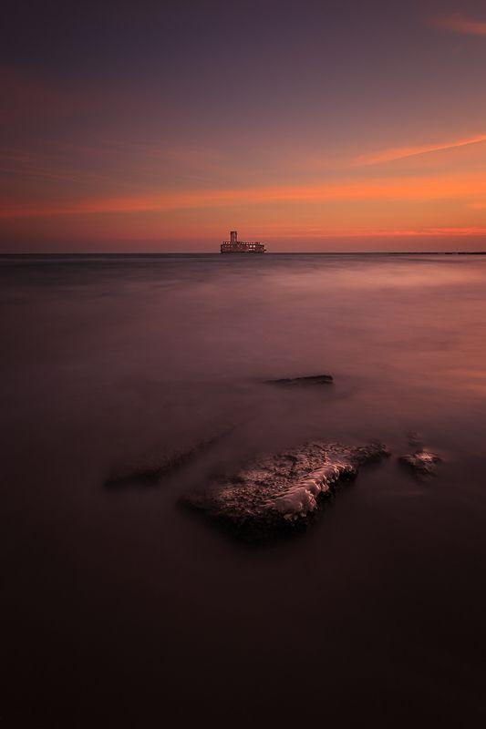 longexposure, sunrise, sunset, winter,  Torpedowniaphoto preview