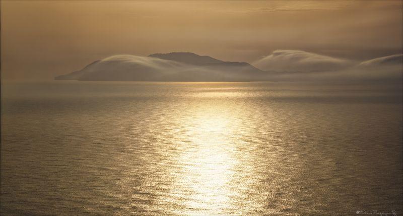крым, орджоникидзе, море, золотой закат Золото Крыма.photo preview