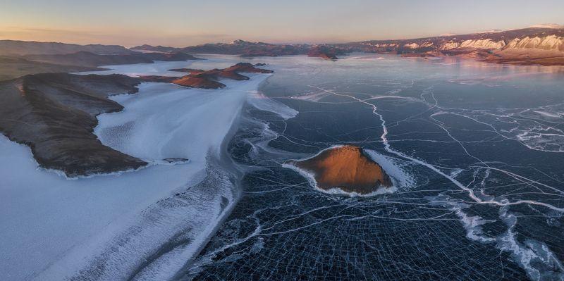 байкал Байкал с высоты полёта грачей )photo preview