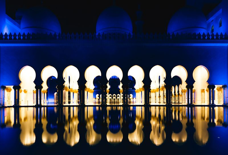 travel, cityscape, architecture, mosque The Blue Goldphoto preview