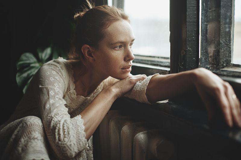 портрет, естественный свет, настроение, студия, portrait, mood Дашаphoto preview