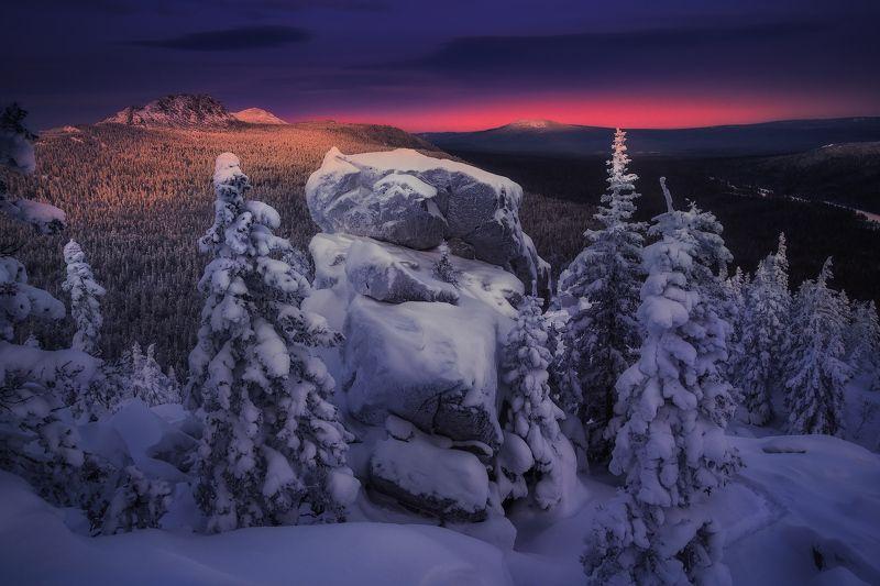 урал, таганай, зима На склонах Таганаяphoto preview