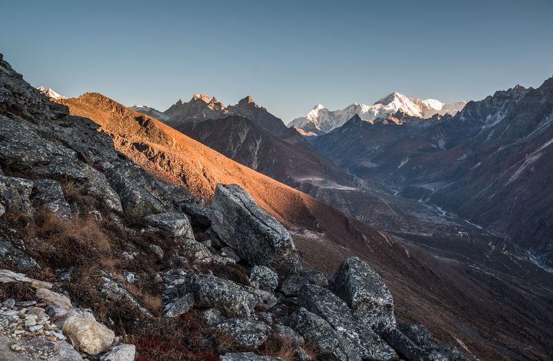 Сандер пик, Чо Ойю, Гималаи, Непал, горы Вид на Чо Ойюphoto preview