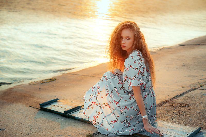 girl, nikon, portrait, sunset, beauty, art Sashaphoto preview