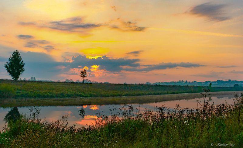 красивая меча, рассвет, ефремов,река Утро на Красивой мечеphoto preview