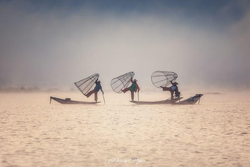 Рыбаки озера Инлеphoto preview