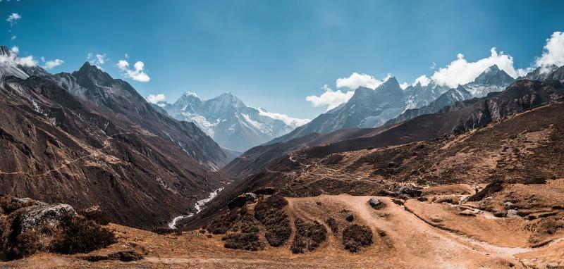 Гималаи, Непал, горы,  Среди горphoto preview