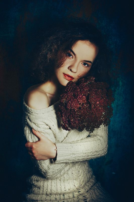 woman, portrait, studio, art Deep in their roots, all flowers keep the lightphoto preview