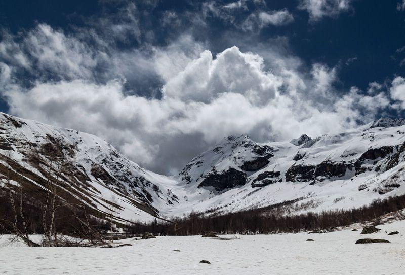 горы зима  снег холод мороз лес forest winter snow frost cold mountains landscape пейзаж природа  дорога road Софийский ледник.photo preview