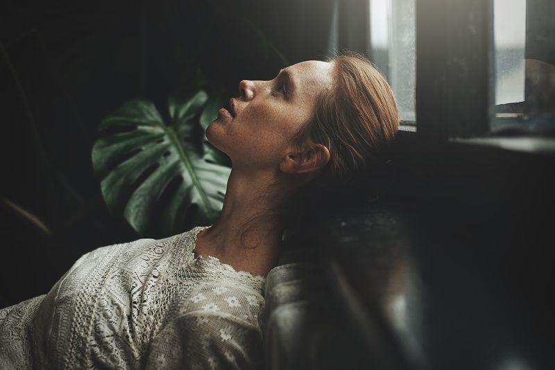 портрет, естественный свет, настроение, скрипка, portrait, mood Дашаphoto preview