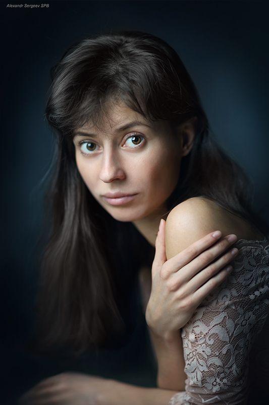 девушка,женственность,красота,настроение,студия Женский портретphoto preview