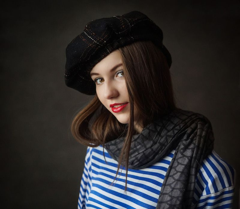 девушка, портрет Викторияphoto preview