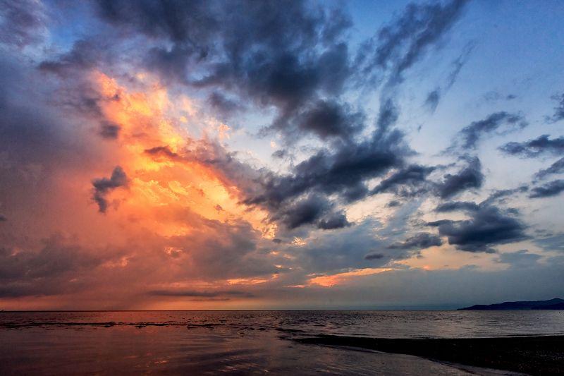 сочи, природа, закат Зимние закаты в Сочиphoto preview