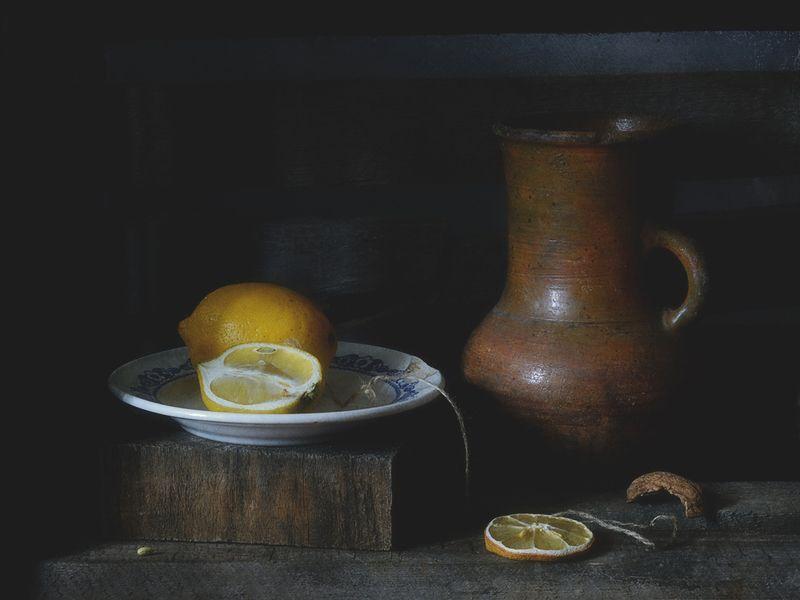 натюрморт,still life,лимон с лимоном...photo preview