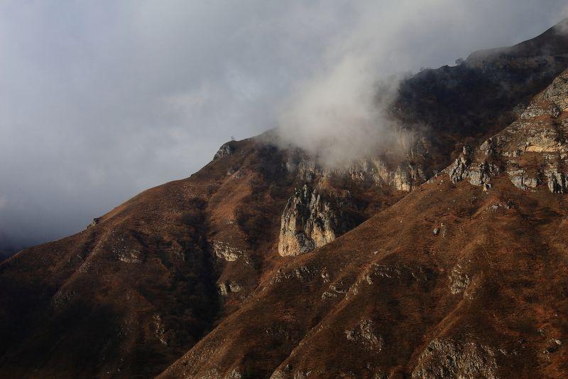 булунгу, кабардино-балкария, чегем, эльтюбю, город, мёртвых, чегемское, ущелье, верхний, чегем, эль-тюбю, горы, природа Чегемское ущелье, Кабардино-Балкарияphoto preview