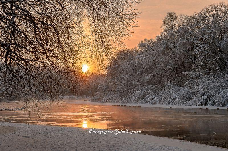 пейзаж,природа,россия,зима,февраль,утро,рассвет,красота \