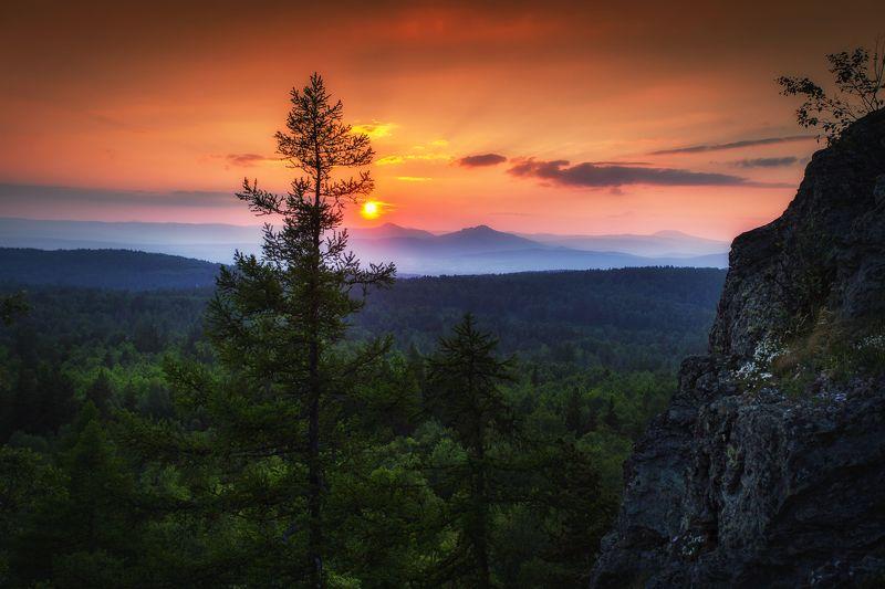 Закат на Урал-тауphoto preview