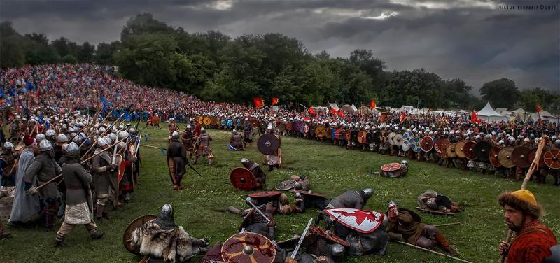 Битва 1000 мечей в Коломенскомphoto preview