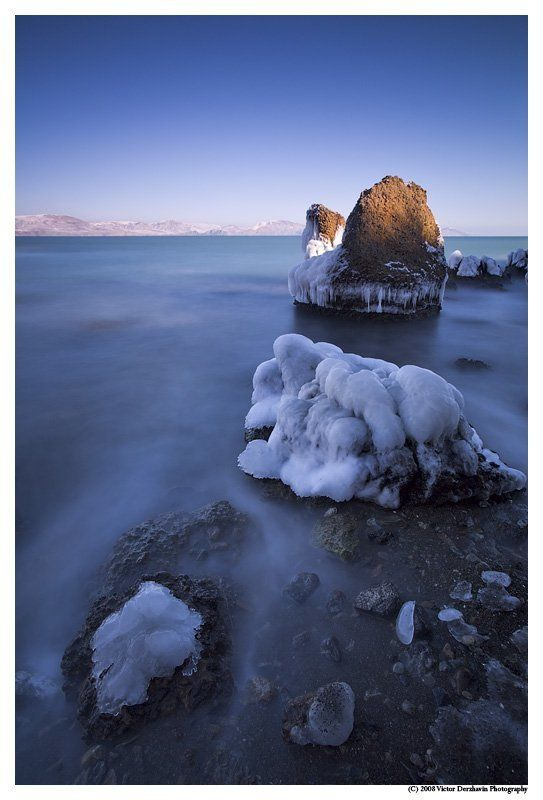 крым зима море небо The Stones & The Seaphoto preview