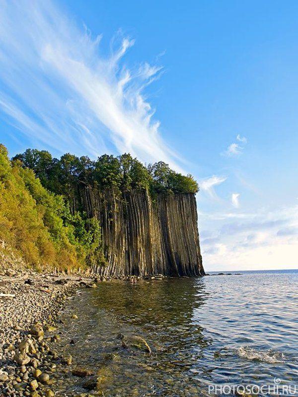 пейзаж, море, скала киселёва, туапсе скала Киселёваphoto preview