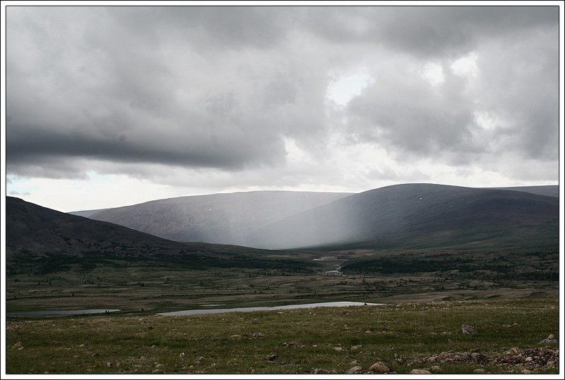 горы, дождь Дождьphoto preview