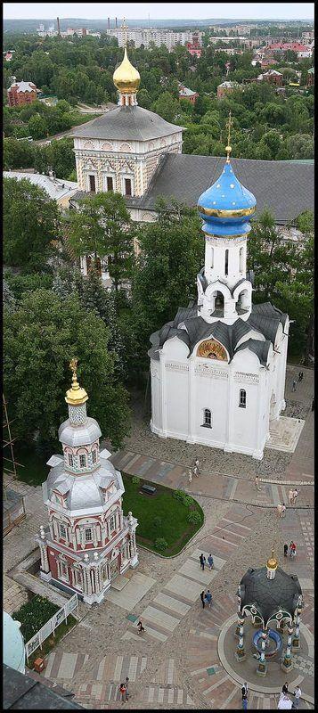 лавра, панорама Свято-Троицкая Сергиева Лавраphoto preview