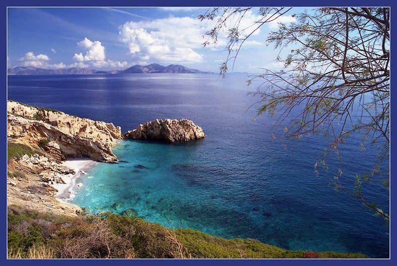 греция, икария, море Цвет моряphoto preview
