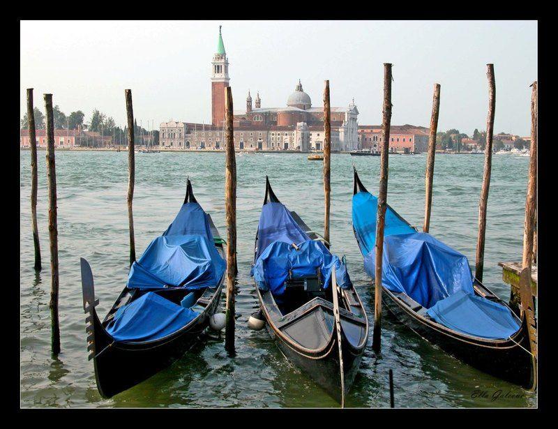 Le gondole venezianephoto preview