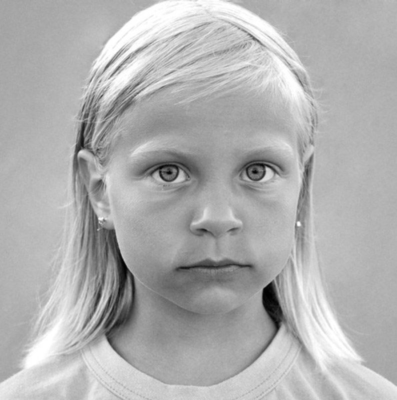portrait Portrait of the Little Girl...photo preview