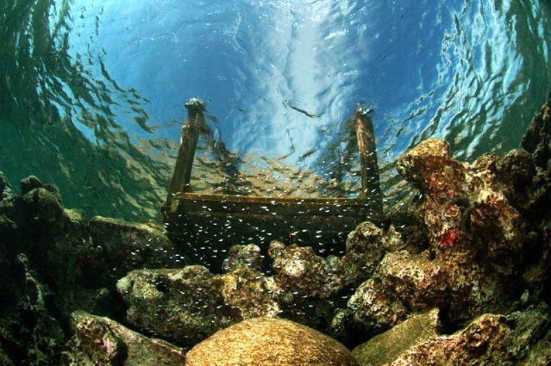 море,мостик,пейзаж Мостикphoto preview