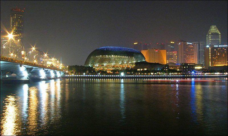 esplanade, сингапур Esplanade - Theatres on the Bayphoto preview