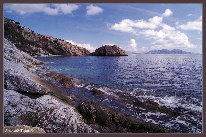 греция, икария, море, берег Берегphoto preview