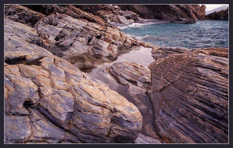 греция, икария, море, берег, камни Камни...photo preview