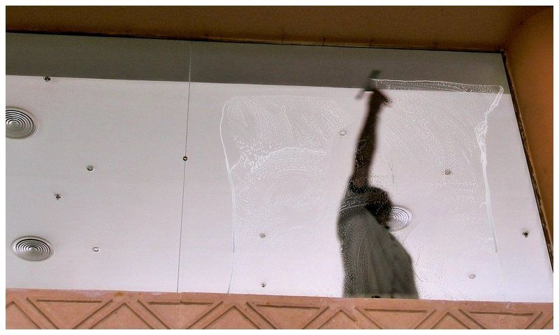 окно, человек, уборка Утро нового дняphoto preview