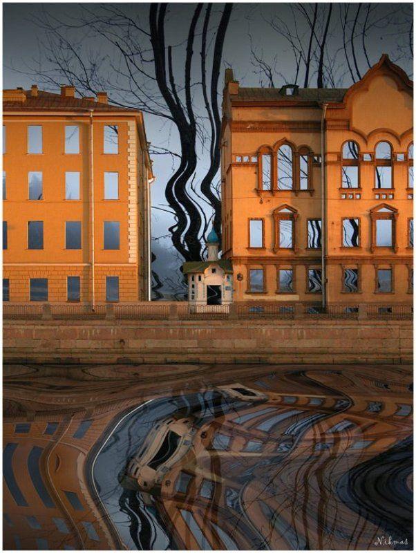 фонтанка, вода, река, декорации Петербургские декорацииphoto preview