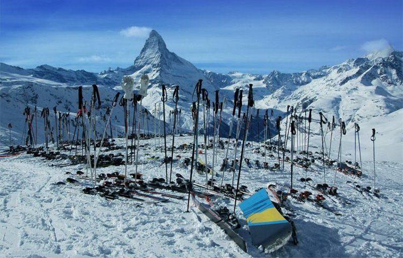 лыжи, доски, горы, швейцария куда все делись?photo preview