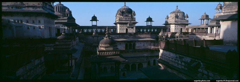 orchha, индия, архитектурная фотография, дворец, Orchhaphoto preview