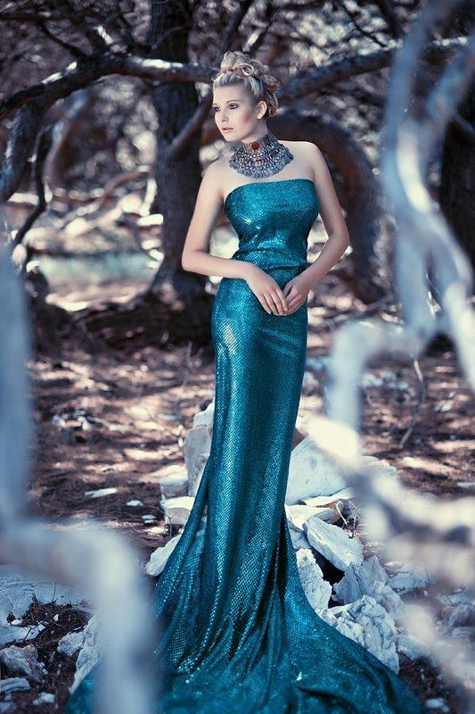 forest, woman, fashion, model, exterior Forestphoto preview