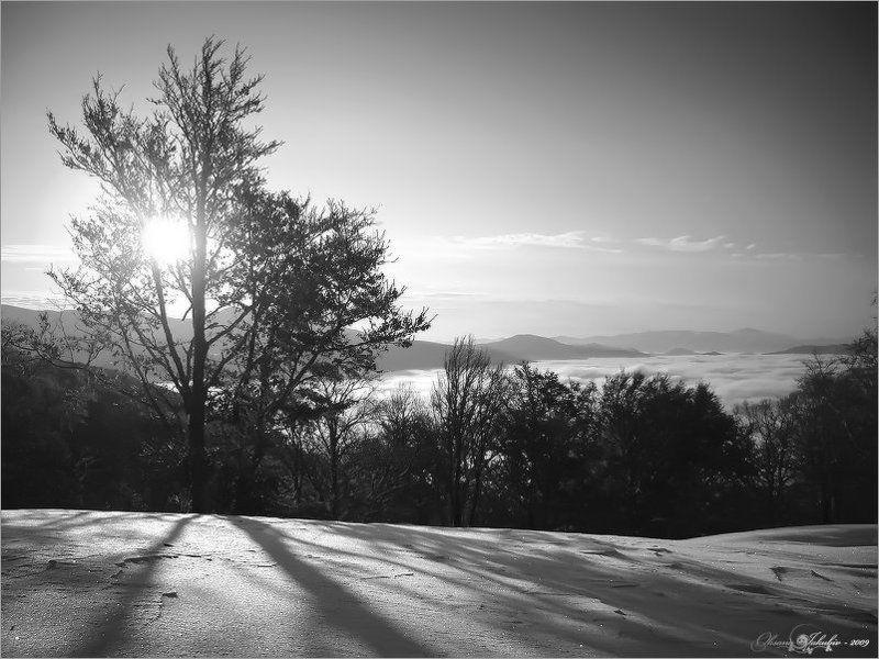 осень, зима, карпаты Кружевоphoto preview