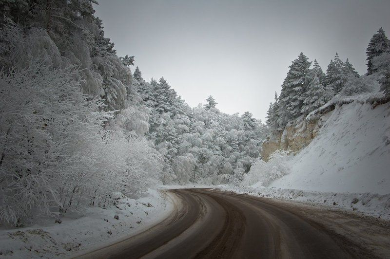 Путешествие на рассвете в зимнюю сказкуphoto preview