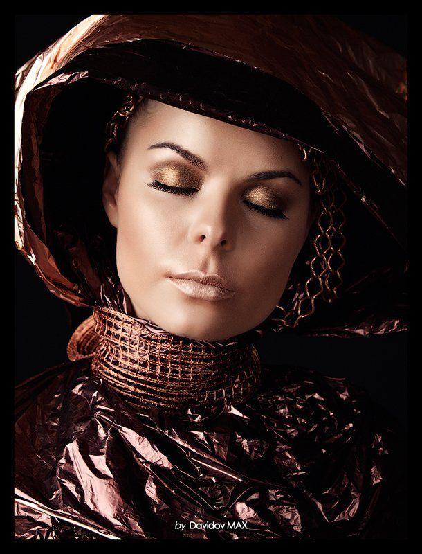 гламур, портрет, жанровый портрет шоколадная конфетаphoto preview
