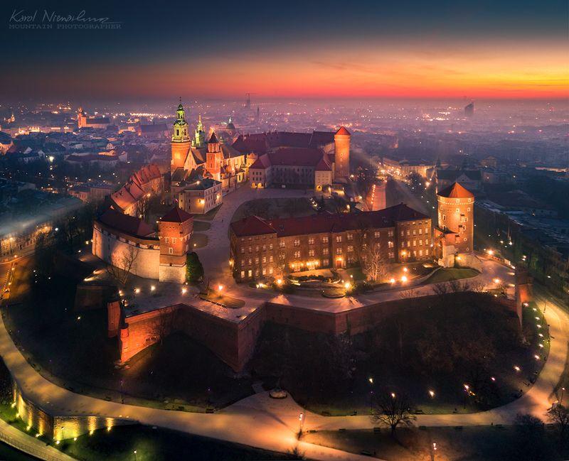 Krakow from above фото превью