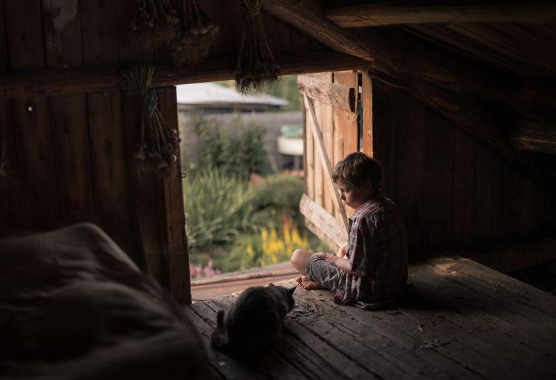 детство, деревня,доброта .photo preview