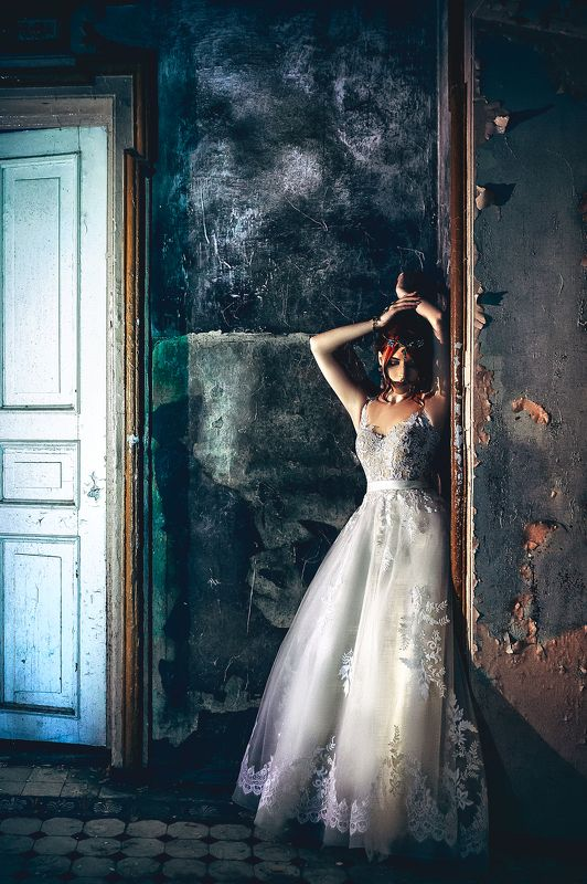 woman, beauty, fashion, art, indoors The Lost Bridephoto preview