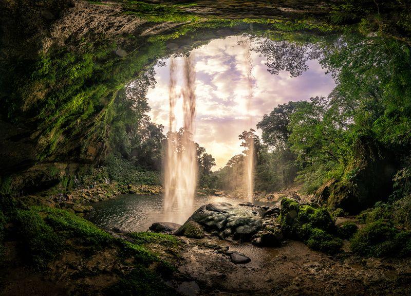 Jungle WaterFallphoto preview