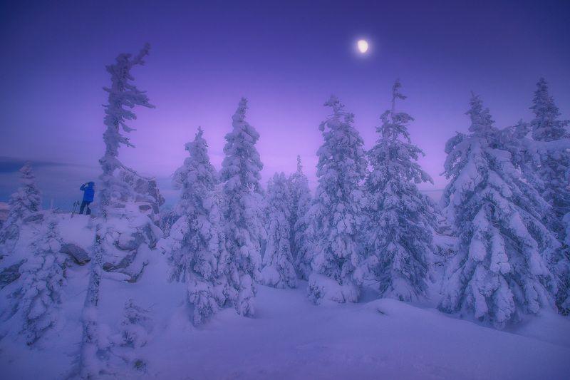 урал, таганай, зима Наблюдательphoto preview