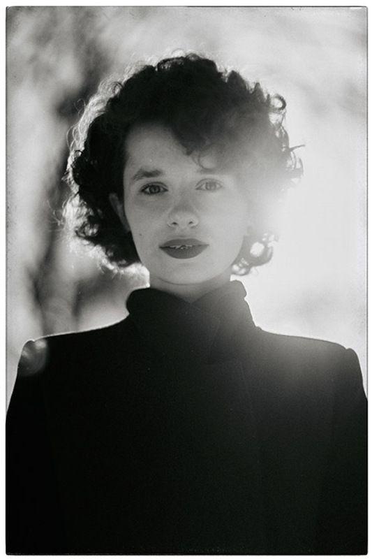 художественная фотография, портрет, черно белое Мороз и солнцеphoto preview