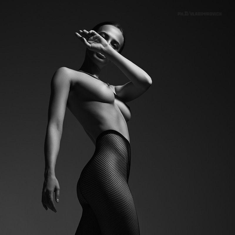 nude, art, studio, girl, bnw, Untitledphoto preview