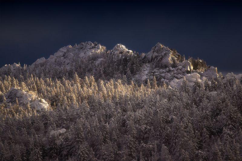 урал, таганай, зима Спящий драконphoto preview